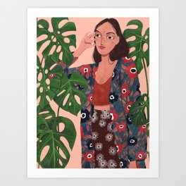 Margarida Art Print