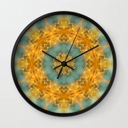 Heavens Flower Mandala Wall Clock
