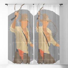 Indiana Cracked Texture Sheer Curtain