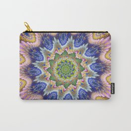 Groovy textured kaleidoscope design Carry-All Pouch