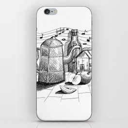 Letter in the bottle iPhone Skin