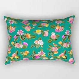 Frida Floral Rectangular Pillow