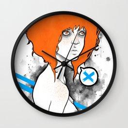 Mary Gold Wall Clock