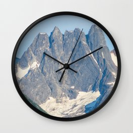 The Mountain's Crown Wall Clock
