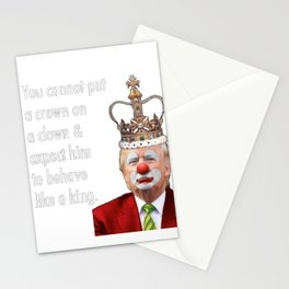trump the clown Stationery Cards