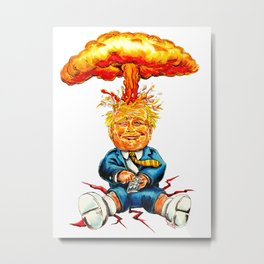 Nuclear Trump Metal Print
