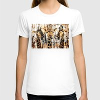 giraffes T-shirts featuring Giraffes by RIZA PEKER