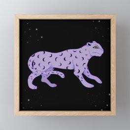 Night Prowl Framed Mini Art Print