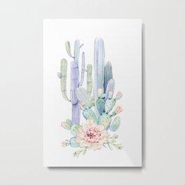Mixed Cacti 2 #society6 #buyart Metal Print