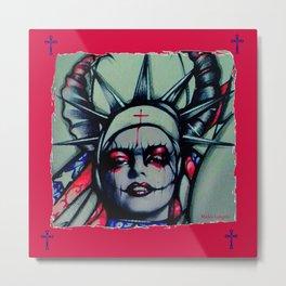 Sister Liberty Metal Print