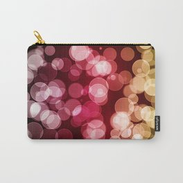 Bokeh Background Carry-All Pouch