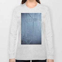 Tower Bridge art Long Sleeve T-shirt