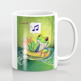Lazy River Frog Coffee Mug