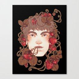 Strawberry Boy Canvas Print