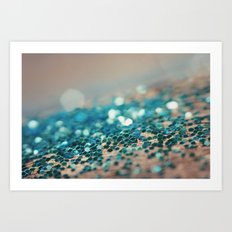 Sprinkled with Sparkle Art Print