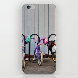 Family Bicycles iPhone Skin