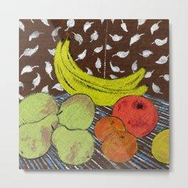 Fruit Still Life by Amanda Laurel Atkins Metal Print