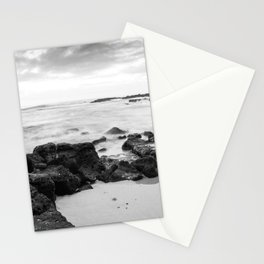 Dramatic coastline at Poipu beach in Kauai, Hawaii Stationery Cards