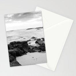 Dramatic coastline at Poipu beach in Kauai, Hawaii Stationery Cards