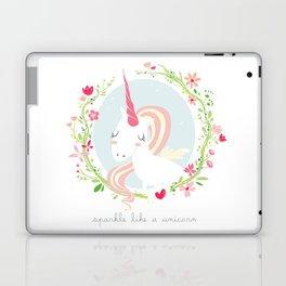 unicorn power Laptop & iPad Skin