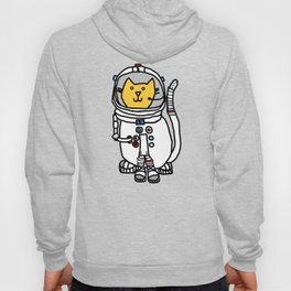 Space Captain Yellow Cat Hoody
