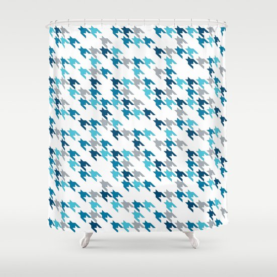 Blue Tooth #2 Shower Curtain