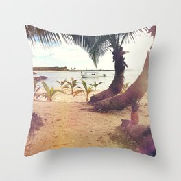 Tropical Wish Throw Pillow