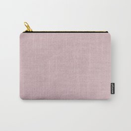 Pink Rabbit Fur Carry-All Pouch