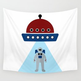 Human Invasion In Style Wall Tapestry