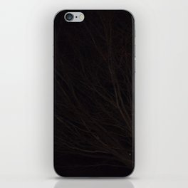 Into the Darkness of Winter iPhone Skin