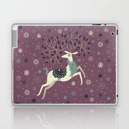 Prancing Reindeer Laptop & iPad Skin