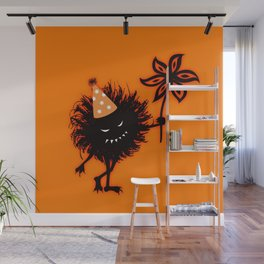 Evil Bug Halloween Party Wall Mural