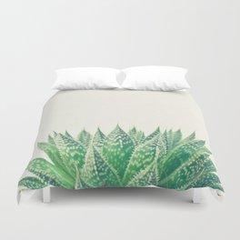 Lace Aloe Duvet Cover