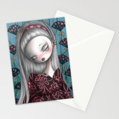 Flower Fans Stationery Cards