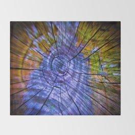 Nature's Tye Dye Throw Blanket