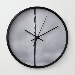 Bird On the Limb Wall Clock