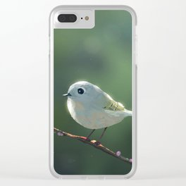 Small Bird Forgets His Password Clear iPhone Case