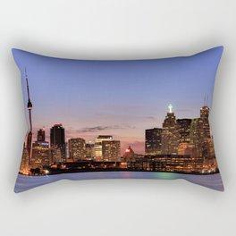 Toronto Night Rectangular Pillow