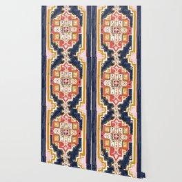 Rugs-Navy Wallpaper