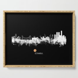 Istanbul Skyline Serving Tray