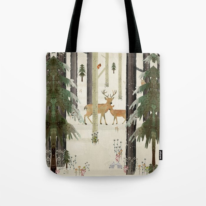nature's way the deer Tote Bag