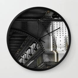 Melbourne Rail Wall Clock