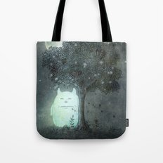Full Moon Spirit  Tote Bag