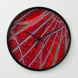 Re-Created Web of Lies20 by Robert S. Lee Wall Clock