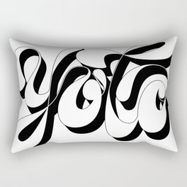 You Only Live Once Rectangular Pillow