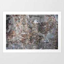 New Orleans Bricks Art Print