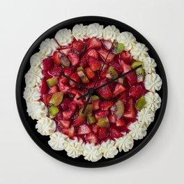 Strawberry Cheesecake  Wall Clock