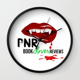 PNR Book Lover Reviews Wall Clock