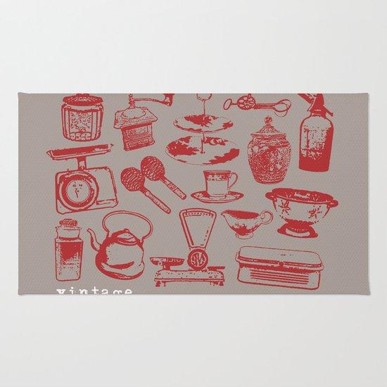 kitchen vintage Rug