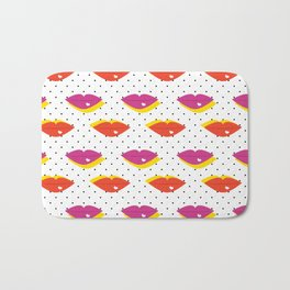 Lots of Kisses Bath Mat